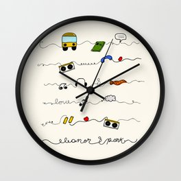 Eleanor&Park Wall Clock
