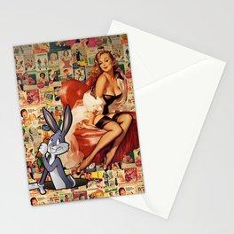 Retro Ads Stationery Cards