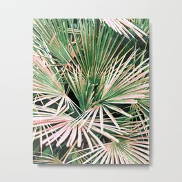 Palms #nature #painting Metal Print