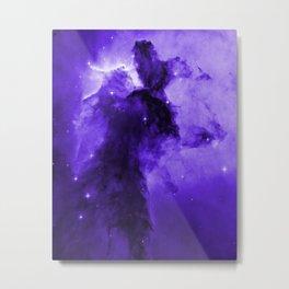 Eagle Nebula Ultraviolet Metal Print