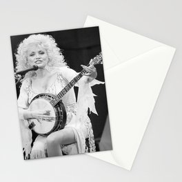 Dolly Parton music star pop music Silk poster Stationery Cards
