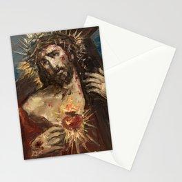Cor Jesu Sacratissimum Passio Stationery Cards
