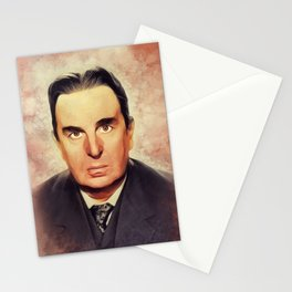 Robert Morley, Vintage Actor Stationery Cards