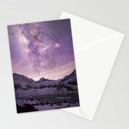 Galactic Center over Aoraki, New Zealand Stationery Cards