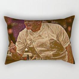 Gordon Ramsay Artistic Illustration Sparkle Style Rectangular Pillow