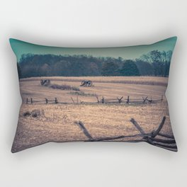 View of Antietam National Battlefield Civil War Battleground Maryland Rectangular Pillow
