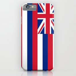 Flag of Hawaii - Hawaiian iPhone Case