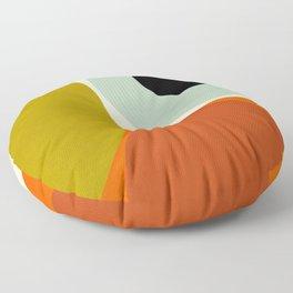 think big 5 shapes geometric Floor Pillow