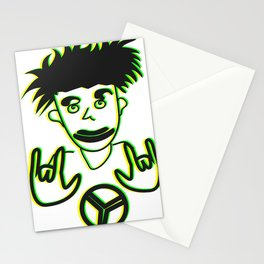 Rasta Peace Drawing Stationery Cards