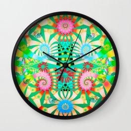 Joyful spring  Wall Clock