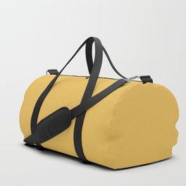 Soft Mustard Solid Duffle Bag