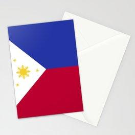 Philippines flag emblem Stationery Cards