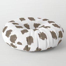 Minimal Paint Splotch Decor Floor Pillow