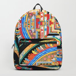 Mandala Buddhist 8 Backpack