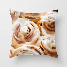 Cinnamon Buns Throw Pillow