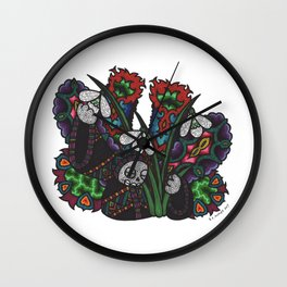Hope (Botanical Bliss) Wall Clock