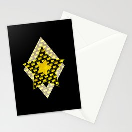 Crowns GeoArt Stationery Cards