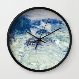 John Peter Russell - Rough sea, Morestil Wall Clock