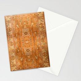 Antique Turkish Oushak Rug Print Stationery Cards