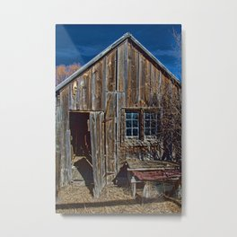 The Old Bunkhouse Metal Print