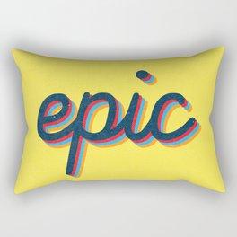 Epic - yellow version Rectangular Pillow