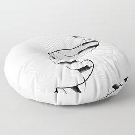 DNA Piano Floor Pillow