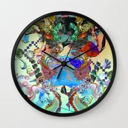 Endless Rhythms Wall Clock
