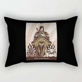 The Chariot - Tarot Card Gift Rectangular Pillow