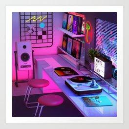 Vinyl is Life Kunstdrucke