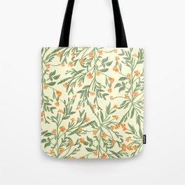 Wonder Garden Pattern Tote Bag
