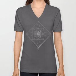 Crystallize Unisex V-Neck
