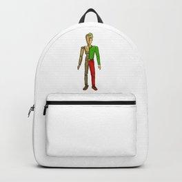 Half man color Backpack