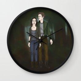 FitzSimmons Bellarke AU Wall Clock