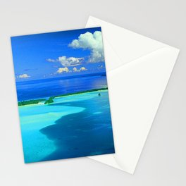 Secret South Pacific Island In Tropical Palau Stationery Cards