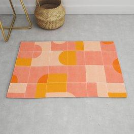 Retro Tiles 03 Rug