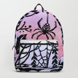Spider Spider Spin Your Web For Night Is Coming Soon Backpack