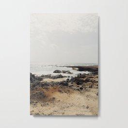 Aruba Coastline Metal Print