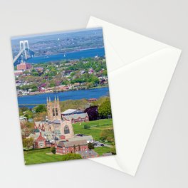 St. George's and Newport Bridge - Aquidneck Island, Rhode Island Stationery Cards