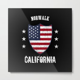 Norwalk California Metal Print