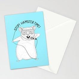 Hamster singing MC Hammer | Animal Karaoke | Blue Stationery Cards