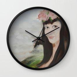 Sha L Wall Clock