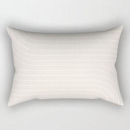 Minimal Line Curvature XI Rectangular Pillow
