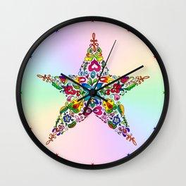 Blooming Star Wall Clock