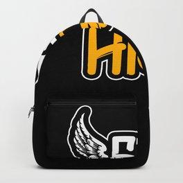 Graffiti Fly High Backpack