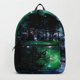 One Magical Night Blue Green Backpack