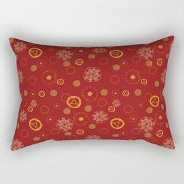 Arc Reactor Polka Dots Rectangular Pillow
