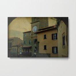 Cortona (Italy) Metal Print