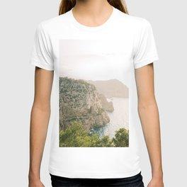 Relaxing Sunset View | Fine Art Travel Photography | Shot on Ibiza T-shirt