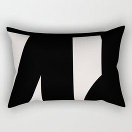 Abstract Form 6D Rectangular Pillow