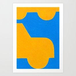 O'range Art Print